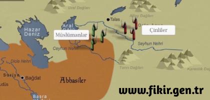 Talas Savaşı ve Türklerin İslamiyete Girişleri
