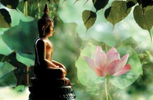 Bodhi ağacı - Aydınlanan Buda Heykeli