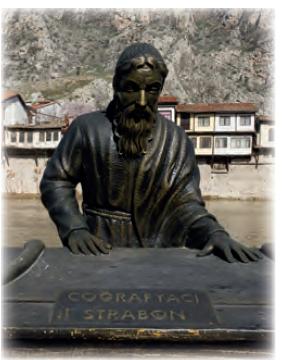 Görsel 1.8 Strabon heykeli (Amasya)