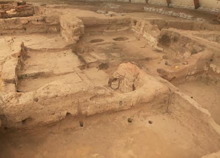 Görsel 2.6 Eski bir yerleşim yeri kalıntısı (Çatalhöyük - Konya)