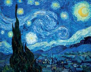 """Van Gogh, """"Yıldızlı Gece"""" sanat felsefesi"""