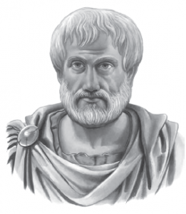 Görsel 3.2 Aristo'nun temsili resmi