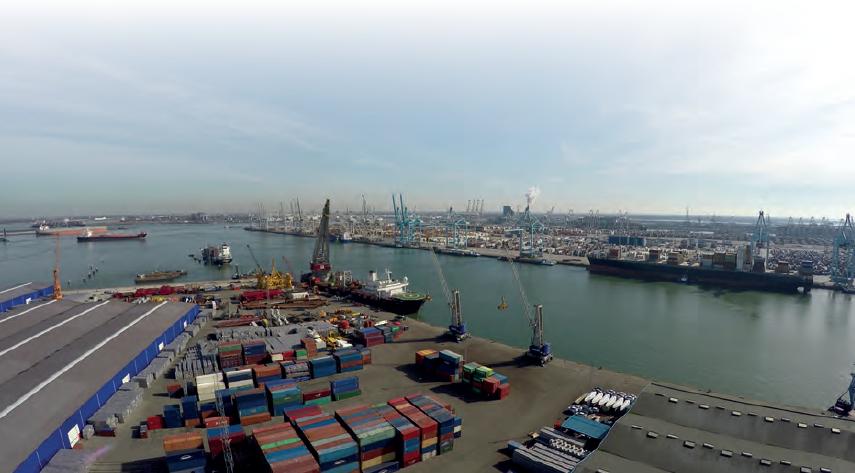Görsel 3.2 Rotterdam Limanı