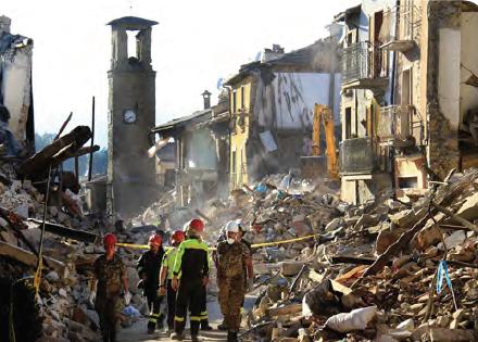 Görsel 4.6 Amatrice (Emetris) depremi (24 Ağustos 2016 - İtalya)