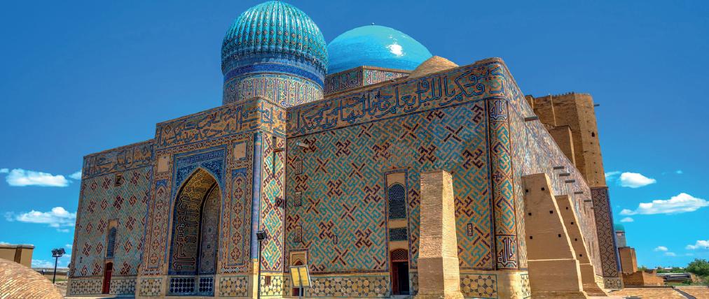 Hoca Ahmet Yesevi'nin türbesi-Kazakistan