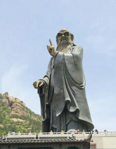Lao-Tzu heykeli