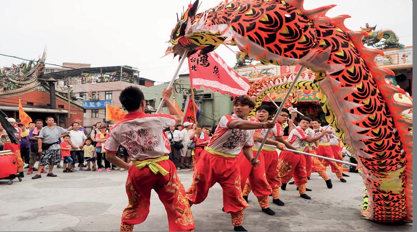 Taoizm ritüeli/şenliği