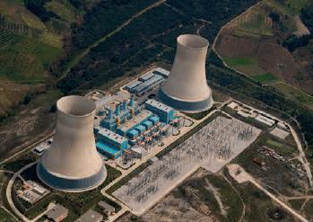 Görsel 2.116 Doğal gaz çevrim santrali (Ovaakça - Bursa)