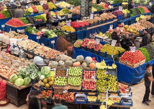 Görsel 2.74 Tarımsal pazarlama