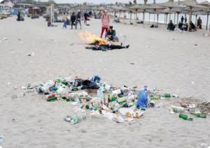 Görsel 3.31 Turizm faaliyetleri sonucu meydana gelen atıklar