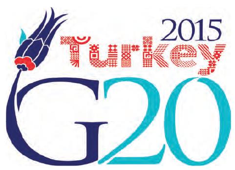 Görsel 3.44 Türkiye'de yapılan G-20 Zirvesi'nin logosu