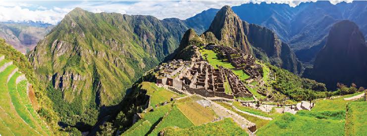 Görsel 3.6 İnka medeniyeti [Machu Picchu (Maçu Piççu) - Peru]