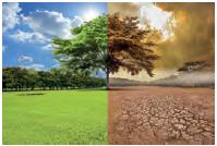 İklim, çevre unsurlarına bağlı olarak değişir.