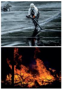 Yangınların ve petrol atıklarının çevreye etkisi